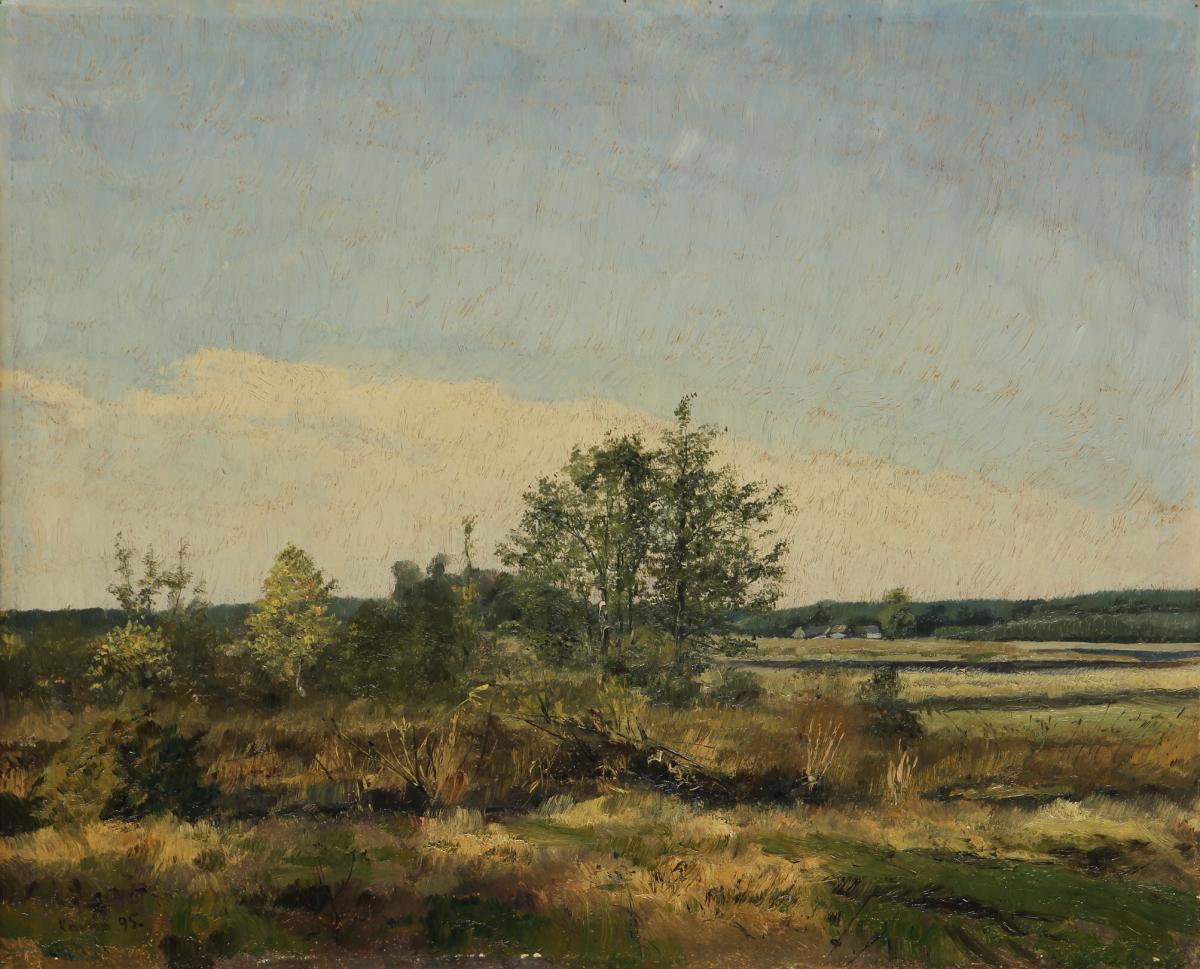 Krajina v létě (Krajina v Podkrkonoší)