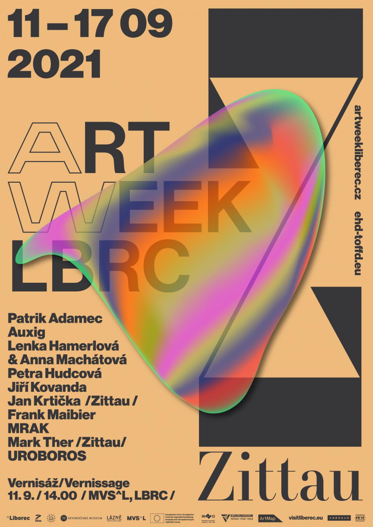 ART WEEK a DNY EVROPSKÉHO DĚDICTVÍ | 5. ročník festivalu současného umění