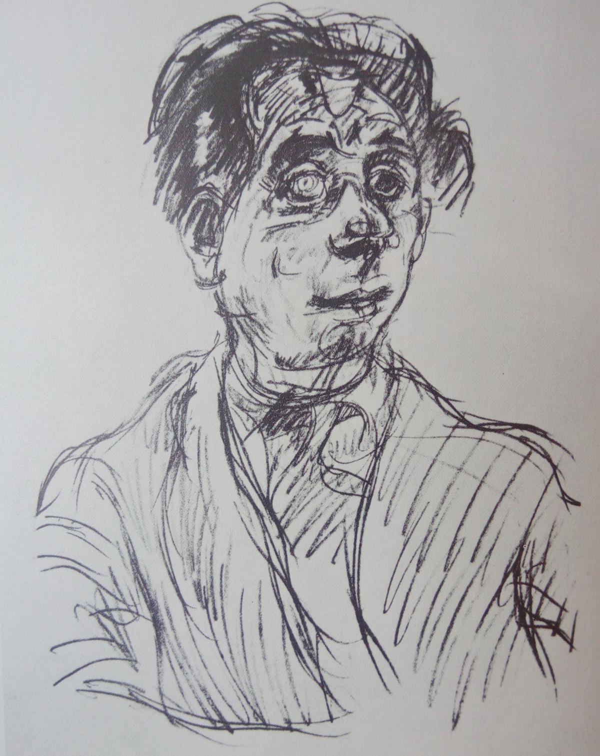 Oskar Kokoschka / Portrét Maxe Reinhardta