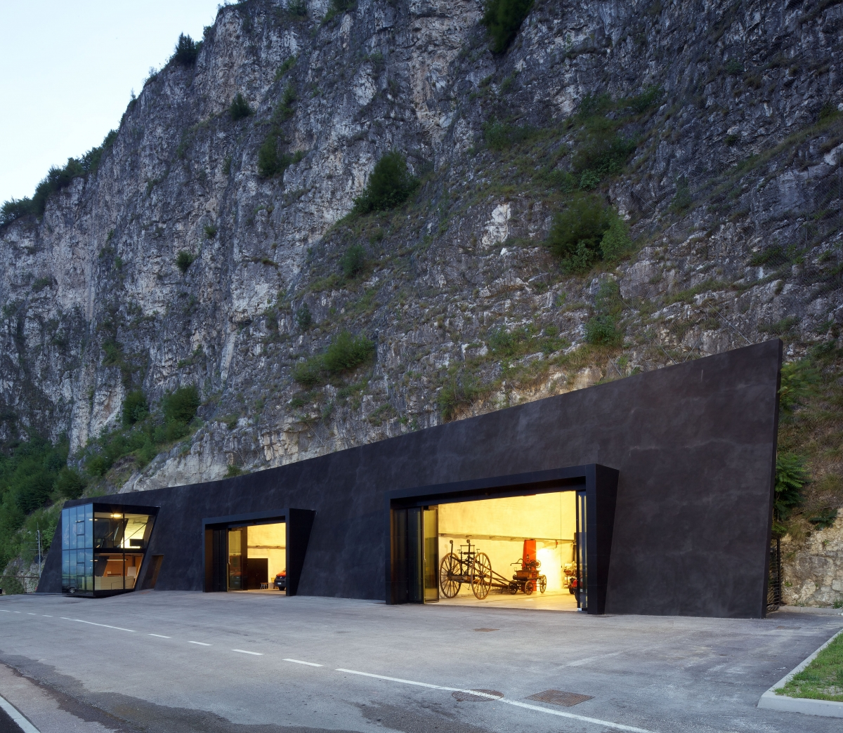 Nová architektura v jižním Tyrolsku