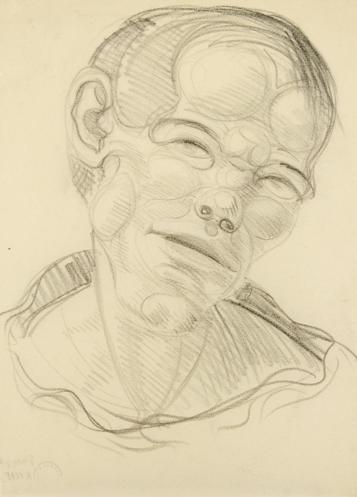 Augustin Brömse/ Hlava Muže